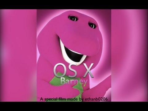 Mac OS X Barney