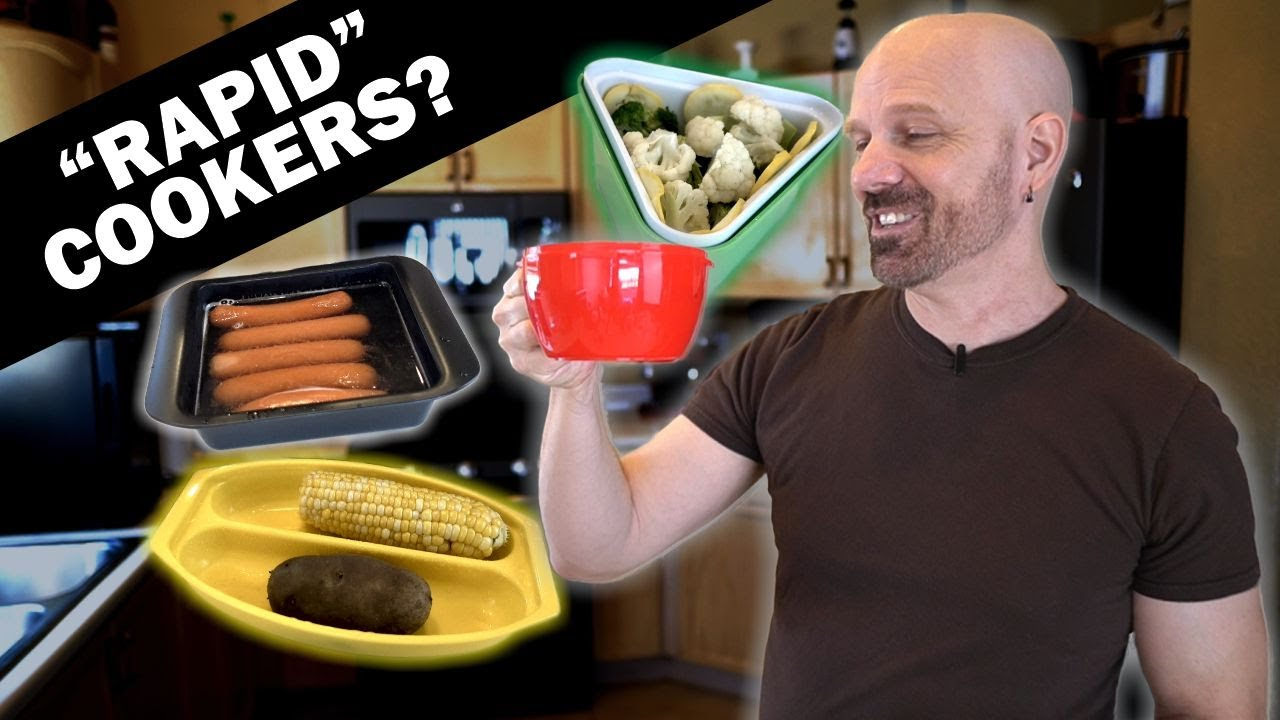 """Testing Four """"Rapid"""" Microwave Gadgets!"""