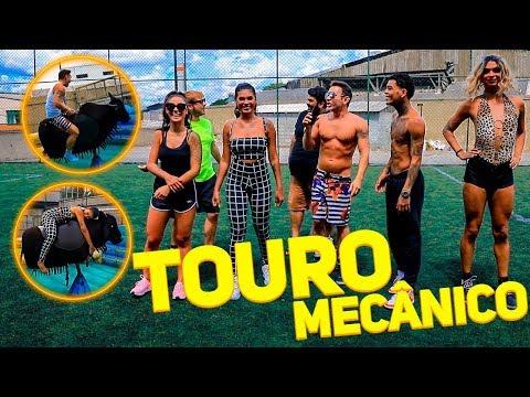 GINCANA: TOURO MECÂNICO COM MC KEVIN MC POCAHONTAS BOCA ROSA LIA CLARK