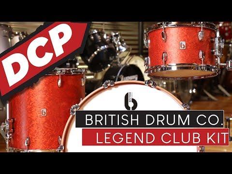 British Drum Company Legend Club Drum Set Review