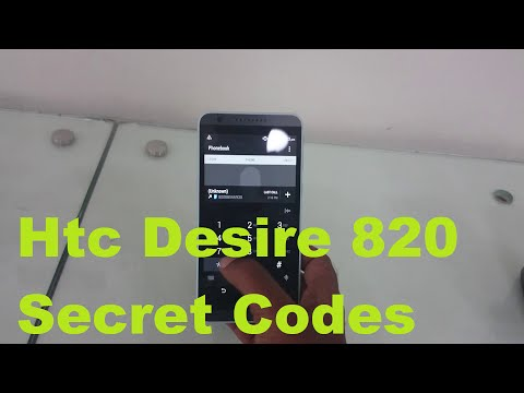 Htc Desire 820 Secret Codes