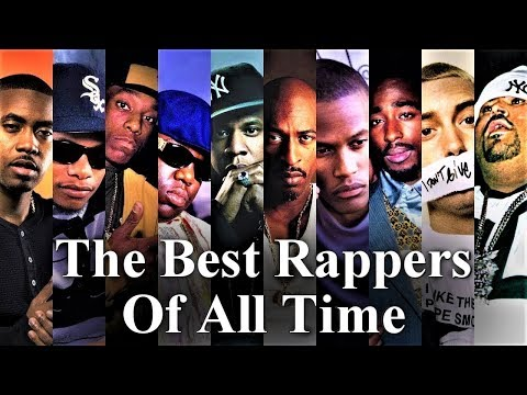 Top 50 - The Best Rappers Of All Time [The Ultimate List 2016]
