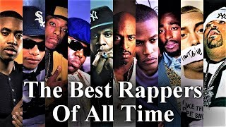 Video Top 50 - The Best Rappers Of All Time (2016) download MP3, 3GP, MP4, WEBM, AVI, FLV Juni 2018