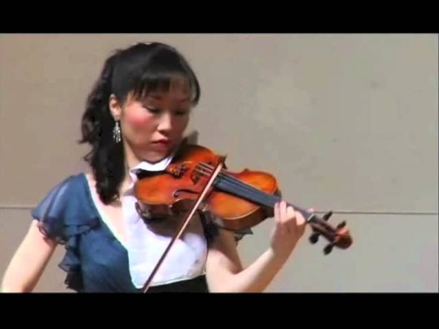 Tricia Park (violin) and Conor Hanick (piano) perform Mozart Sonata No. 1, 1st movement