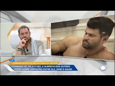 Conrado Responde às Suspeitas Dos Peões Sobre As Conversas Da Casa Da Árvore