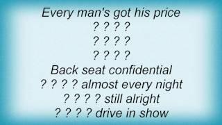 Ac Dc - Back Seat Confidential Lyrics