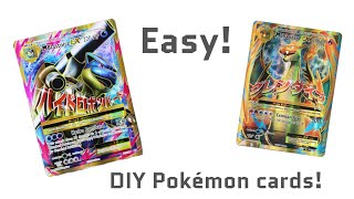 HOW TO MAKE A POKEMON CARD!!!