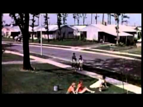 1950s Homelife Suburban Sprawl And The Baby Boom Youtube