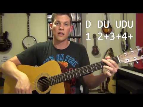 Intro to Guitar Strumming: How to Change Chords IN TIME