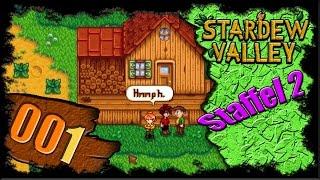 Stardew Valley Deutsch Let's Play [1.1] ❀ S2#001 – Auf ein Neues! ❀ Lets Play German