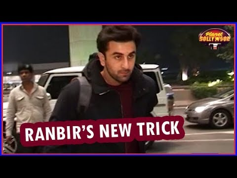 Ranbir Kapoor Adopted A New Trick To Avoid Paparazzi  Bollywood News
