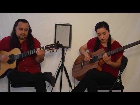 """Joy to the World"" on Flamenco Guitar & Acoustic Bass"
