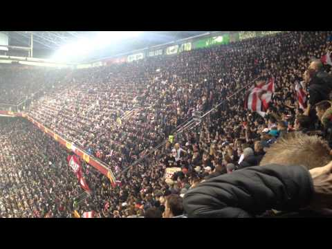 Ajax-Steau Boekarest 14-02-2012