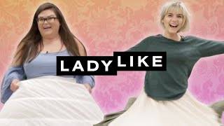 We Wore Hoopskirts For A Day • Ladylike by : Ladylike
