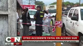 Accidente fatal en Ñemby