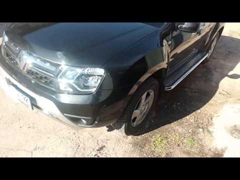Обвесы и пороги на Renault Duster