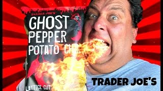 Ghost Pepper Potato Chips REVIEW | Trader Joe's