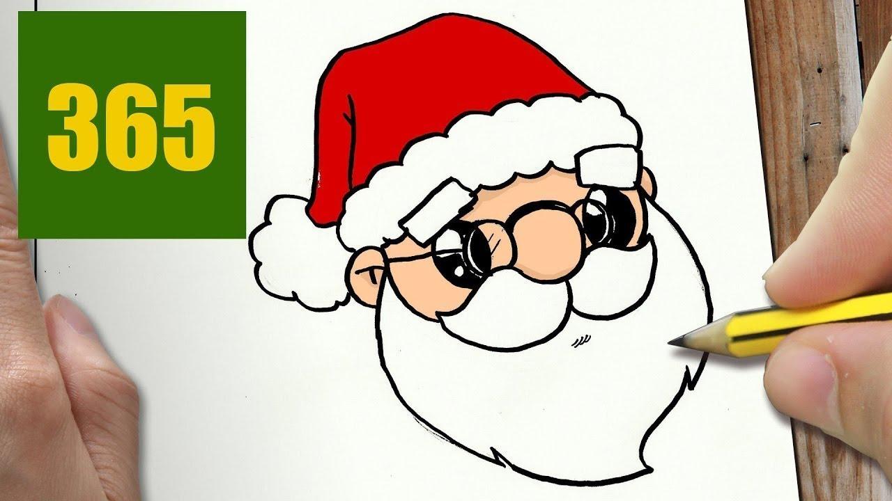 Immagini Natalizie Kawaii.Come Disegnare Babbo Natale Kawaii Passo Dopo Passo Disegni Kawaii