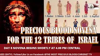 PRECIOUS BLOOD: July Novena For The 12 Tribes Of Israel- Day 8