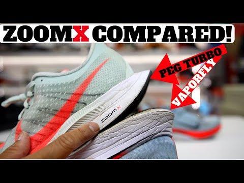 Nike ZoomX Pegasus Turbo Has REACT?! vs Vaporfly 4%!