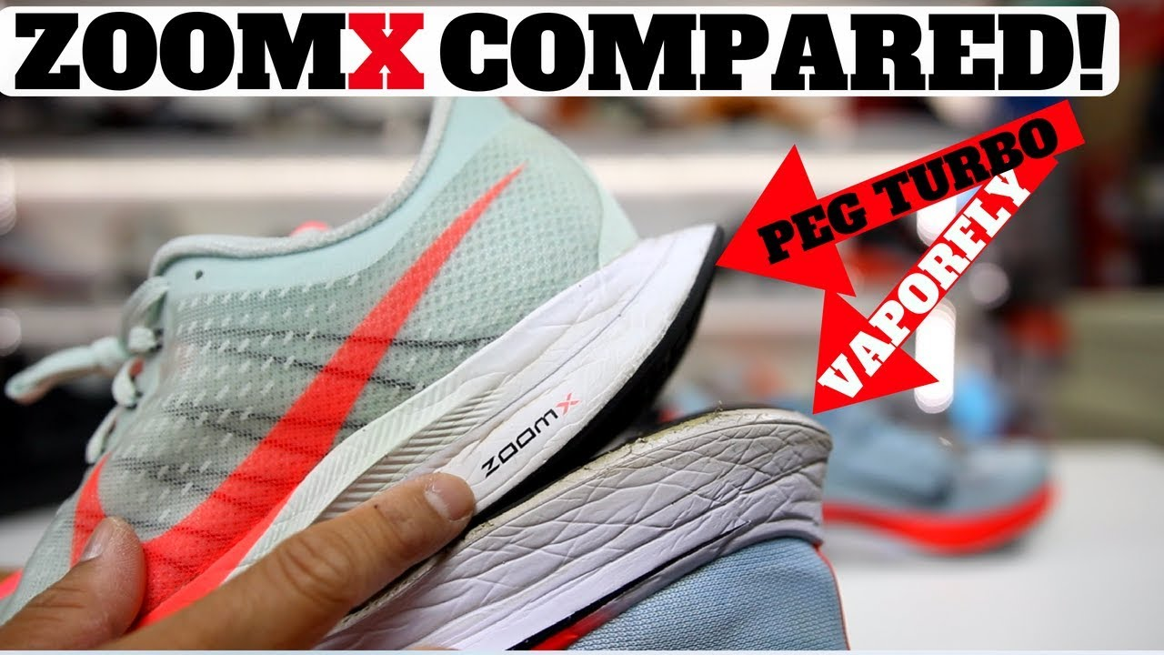 69595bb00d56e Nike ZoomX Pegasus Turbo Has REACT ! vs Vaporfly 4%! - YouTube
