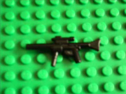 How to make Lego Call of Duty 4 weapons