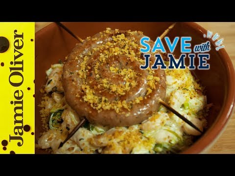 Sausage, Leek and Butterbean Cassoulet | #SAVEWITHJAMIE | Sorted Food