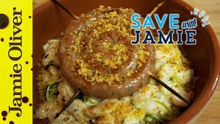 Sausage, Leek And Butterbean Cassoulet | #savewithjamie | Sorted Food
