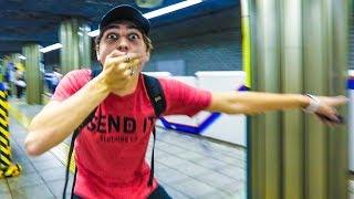 Gambar cover HE DERAILED THE TRAIN!