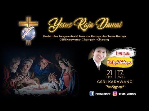 Youth Christmas 2019 (GSRI Karawang - Cikampek - Cikarang) - Ev. Ayub Wahyono