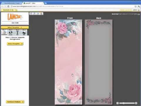 free memorial bookmark template download - working with bookmark templates lamcraft digital