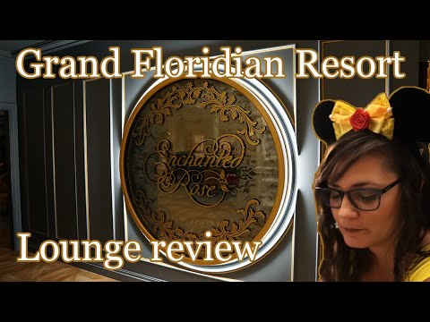 The Enchanted Rose - Specialty drink review with some enchanting friends - Disney's Grand Floridian