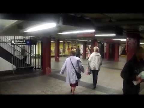 Walking Around Penn Station in New York City