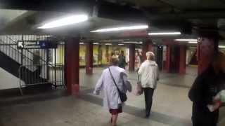 Walking Around Penn Station in New York City