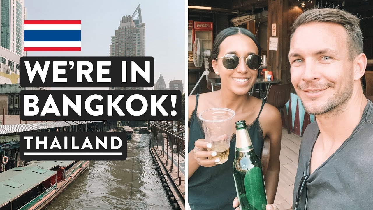 2 HOUR BANGKOK MISSION - RIVER BOAT & BTS | To Khao San Road | Thailand Travel Vlog