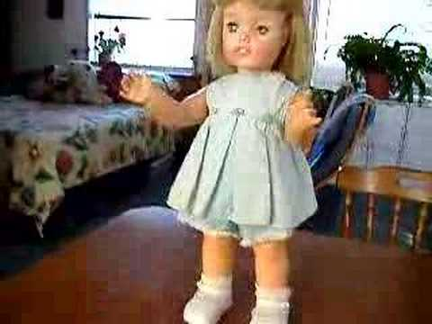 Our Goody Two Shoes Walking Doll By Ideal 1965 2 Youtube