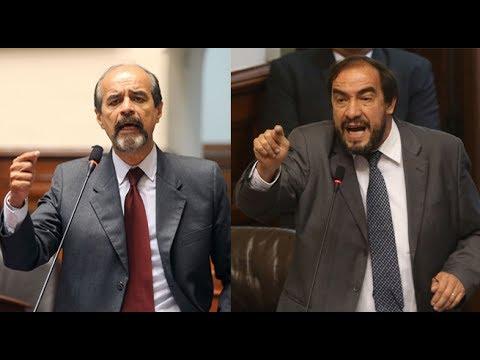 Mauricio Mulder y Yonhy Lescano se dijeron de todo en el Congreso