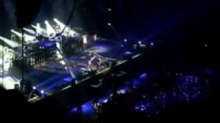 Video que fiz com trechos dos videos que gravei no show do Linkin P...