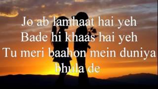 Darkhaast Lyrics Shivaay Arijit Singh Sunidhi Chauhan