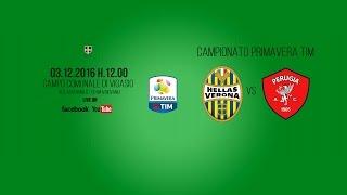 LIVE / Primavera TIM: Hellas Verona-Perugia