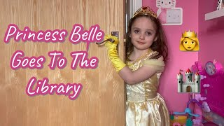 Disney Princess Belle goes to the Library! It's Tori Time