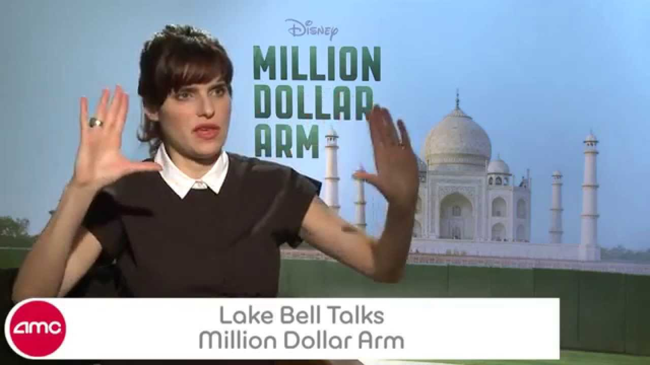 Lake Bell Talks MILLION DOLLAR ARM With AMC