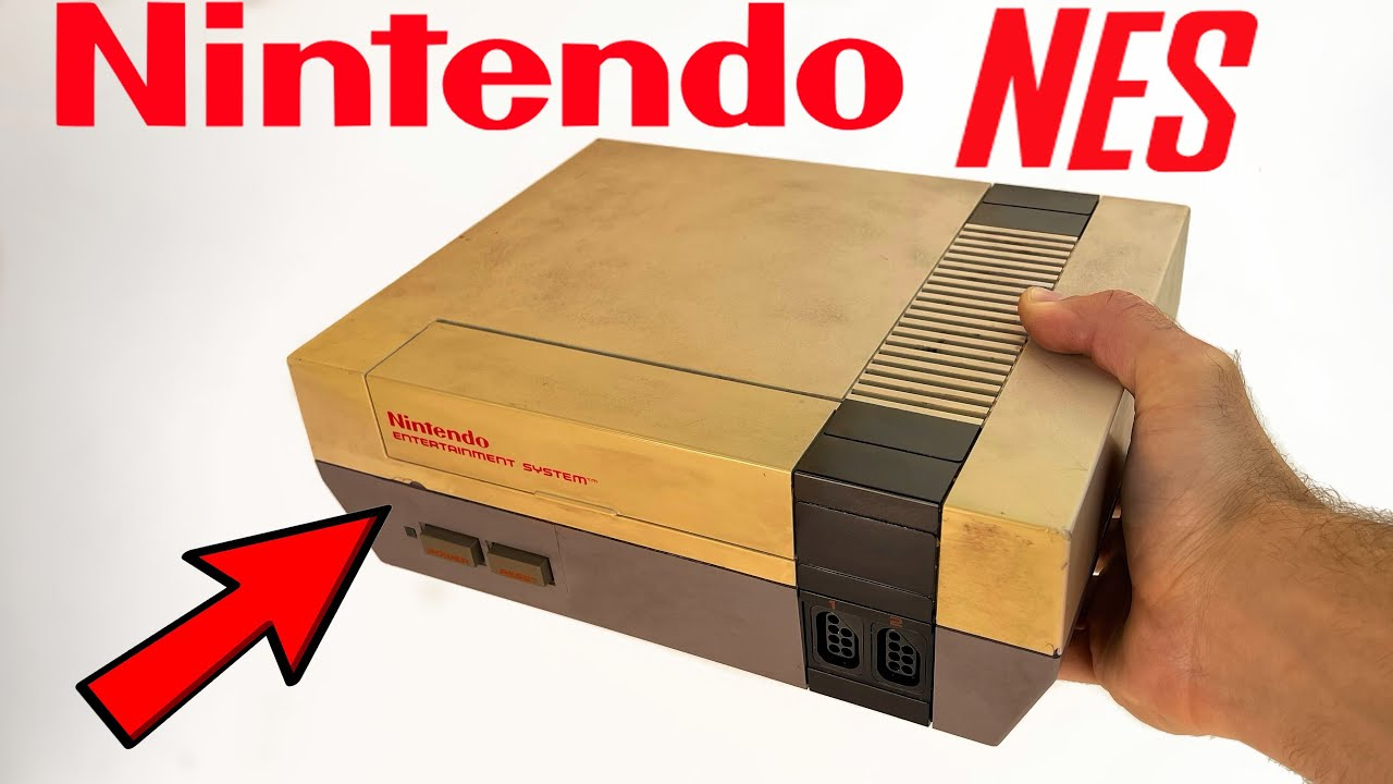 Nintendo NES Console Restoration - Yellowed Plastic Retrobright