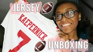 COLIN KAEPERNICK JERSEY UNBOXING!