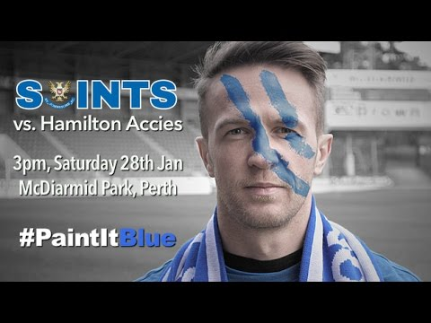 #PaintItBlue - St. Johnstone v Hamilton Accies promo video