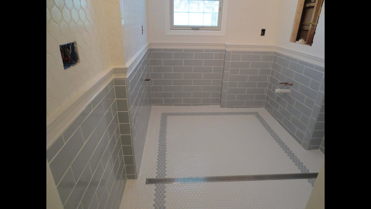 Complete bathroom Schluter systems products Part 9 Grout