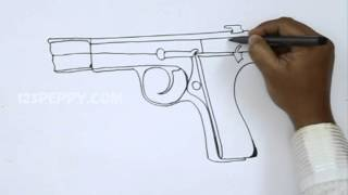 How to Draw a Browning