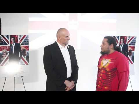 Interview & Self-Defense Demonstration for 'London Has Fallen'