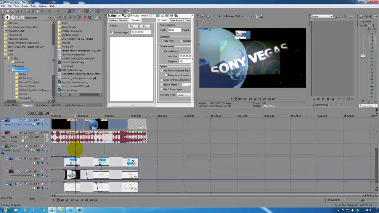 Video Editing From Sony Vegas Pro 13 And Adobe After