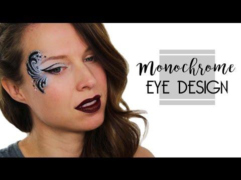 Glitter Eye Face Painting